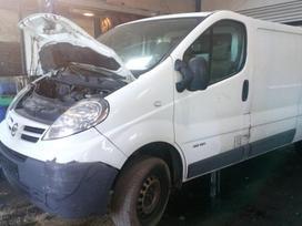 Renault Trafic dalimis. 2.5dci 107kw naudotos dalys. išrašome są