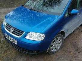 Volkswagen Touran rezerves daļās. Auto is anglijos, yra 1,9tdi