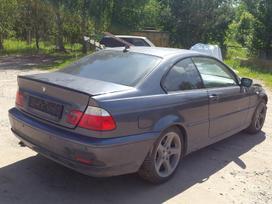 BMW 3 serija. Bmw e46 330cd 150kw 2005m. coupe europinis