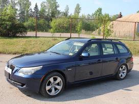 BMW 5 serija dalimis. E61lci 535xi 2008m. dalimis! šildomas