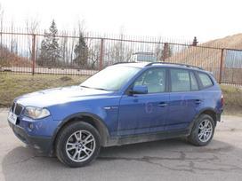 BMW X3 dalimis. E83 x3 2.0d 2008m. dalimis!   platus naudotų