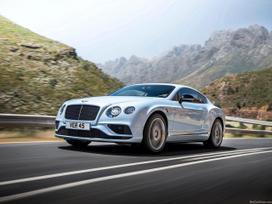 Bentley Continental dalimis. Bentley naujos