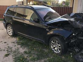 BMW X3. Bmw x3 3.0sd lci 3.0d 210kw spalva: black sapphire