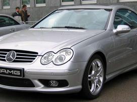 Mercedes-Benz CLK klasė. Naudotos  ir naujos detalės. didėlis