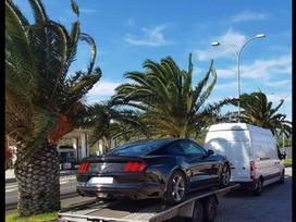 Gabename, Vezame automobilius i Ispanija ir iš Ispanijos