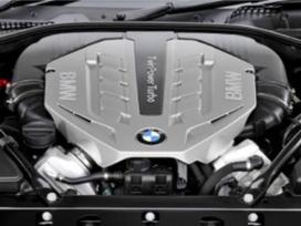 BMW 750 variklio detalės