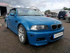 BMW M3 dalimis. Pradėtas ardyti 2019 07 18  rida 200 000 km