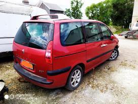 Peugeot 807 dalimis. Iš prancūzijos. esant galimybei,