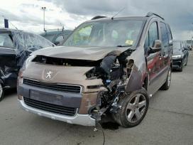 Peugeot Partner. Dalimis is anglijos