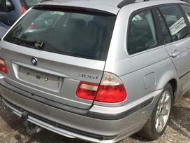 BMW 3 serija. Bmw e46 325i touring 2000m.  spalva: titansilber