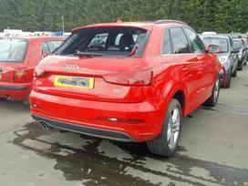 Audi Q3. Dalimis is anglijos.