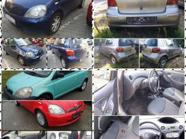 Toyota Yaris. 1.0 ir 1.3. benzinai. 1999-2005m. 5 ir 3 durų.