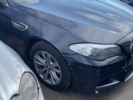 BMW 520. Bmw 520d 135kw dalimis  m5 apdaila juodos lubos su