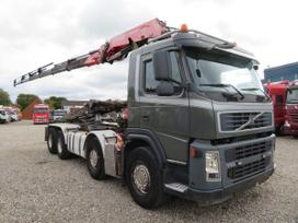 Volvo FM440 8X4 *FASSI F260XP*, savivarčiai su kranu