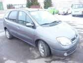 Renault Scenic. Europa. variklis  k4m   a  7/00. mech.  pavaru
