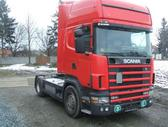 Scania 124-420 1400 litru kuro bakai, vilkikai