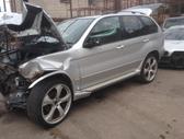 BMW X5. Bmw x5 2002m. , odinis rekaro salonas, lieti ratai r22