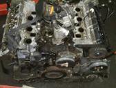 Volkswagen Phaeton variklio detalės