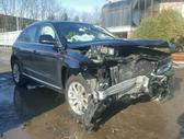 Audi Q5 dalimis. Audi q5 . dauztas priekis .vidus pilkas .