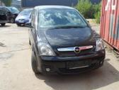 Opel Meriva dalimis. Prekyba naudotomis ''opel''markes