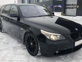 BMW 535. Bmw e61 535d 200kw touring 2005m.  spalva: black