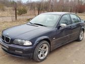 BMW 3 serija. Bmw e46 320 2.0d 100kw sedanas  odinis salonas