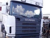 Scania R124LA, vilkikai