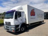 MAN LE 12.250, box trucks / box vans