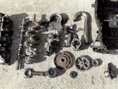 Renault Clio variklio detalės