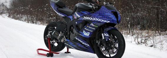 Motoakrobato Šarūno ginklas – naujausias akrobatinis motociklas Baltijos šalyse