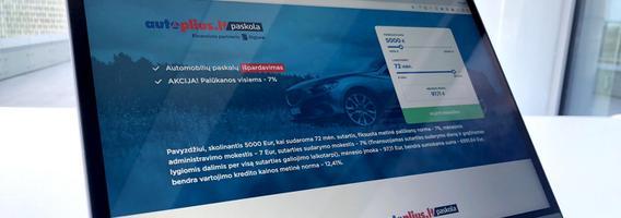 """""""Autoplius.lt"""" ir """"Bigbank AS"""" pristato jungtinę paslaugą automobilių  pirkėjams"""