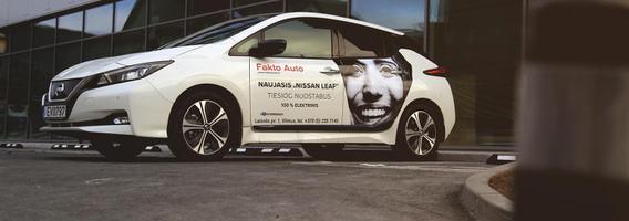 """Nauji vairavimo potyriai su antros kartos """"Nissan Leaf"""""""
