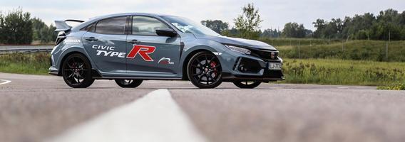 """""""Honda Civic Type-R"""" – priekiniais ratais varomas gatvių monstras"""