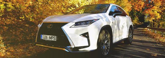 """""""Lexus RX"""" visureigis technologijas mėgstančiam vairuotojui"""