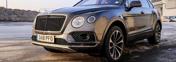 """Bentley Bentayga V8"" - neįmanomos užduotys jam neegzistuoja"