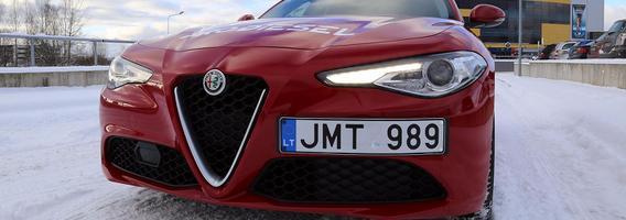 """""""Alfa Romeo Giulia"""" – charakteringos italų damos atkirtis santūriesiems vokiečiams"""