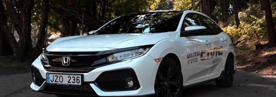 """Dešimtoji """"Honda Civic"""" karta – drastiški pokyčiai ne tik iš išorės"""